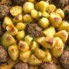 Картофель с фрикадельками
