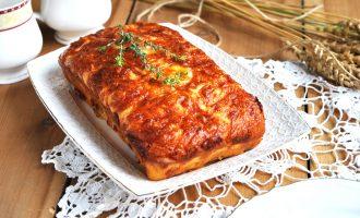 Мясной хлебец в духовке
