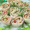 Салат в лаваше «Закусочный»