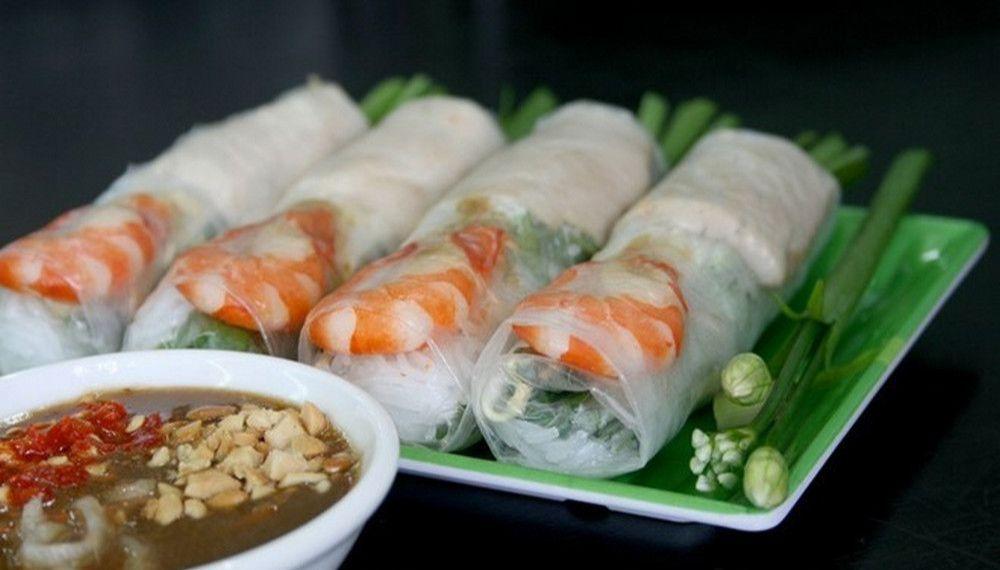 Спринг-роллы с креветками по вьетнамски