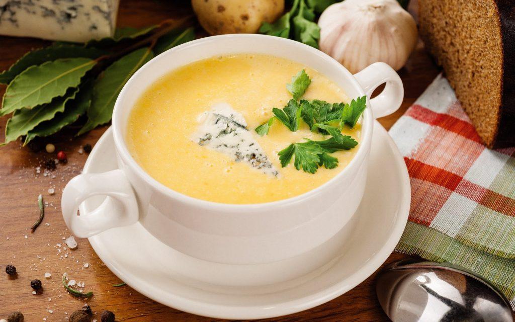Сырный суп классический