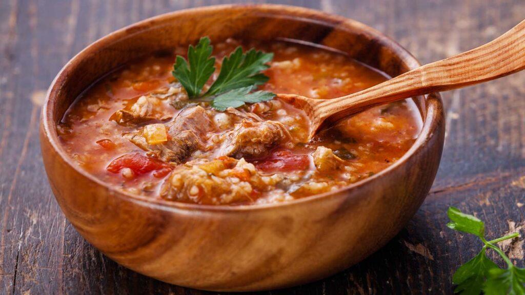 суп харчо классический со свининой