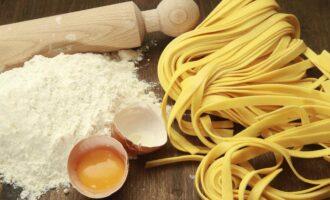 Домашняя лапша рецепт на яйцах